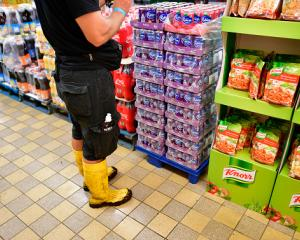 Germans will be told to hold an individual supply of food for 10 days. Photo Getty