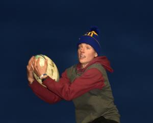 United States and Otago Spirit player Hannah Stolba gets in some practice at Hancock Park on...