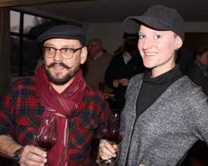 Ifan Thomas and Imogen Czulowski, both of Barossa Valley.