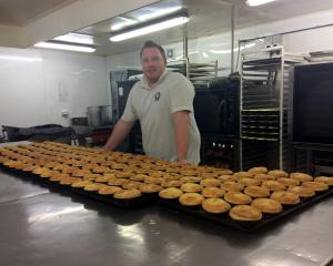 Cambell Gibbons says going from apprentice baker to part-owner of a bakery was a big learning...