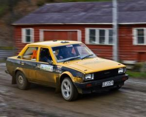 Mosgiel's Jake Thomas should be one of the front-runners in the 2WD 1301-1600cc Class B at the...