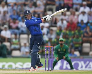 England's Jason Roy in action during the one-dayer against Pakistan at The Ageas Bowl. Photo:...