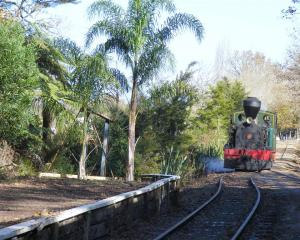 Kawakawa's Bay of Island's Vintage Railway, the  30-tonne 1927 steam engine Gabriel. Photos by...