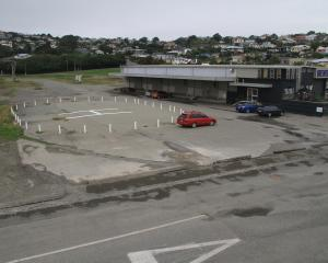 The helipad beside Scott's Brewery at Friendly Bay, pictured in January, has been removed. Photo...