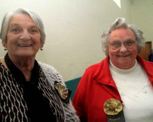 Marie Ormandy and Margaret Petrie, both of Oamaru.