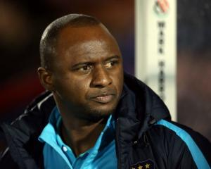 Patrick Vieira. Photo: Reuters