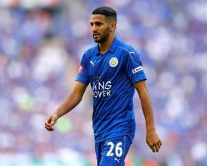 Riyad Mahrez. Photo: Reuters