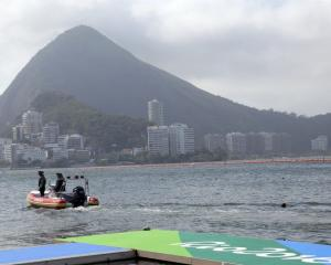 Officials decided to cancel the rowing on day two of the Rio Olympics. Photo: Reuters
