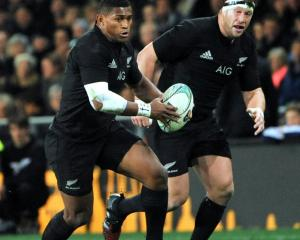 Renewed contracts for All Blacks rugby kept Sky TV's revenue flat. Photo: Peter McIntosh.