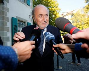 Sepp Blatter arriving at the Court of Arbitration for Sport. Photo: Reuters