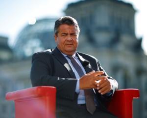 Sigmar Gabriel. Photo: Reuters