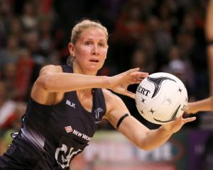 Silver Ferns captain Casey Kopua. Photo: Getty Images
