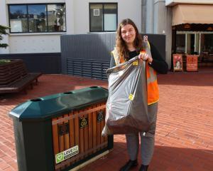 Keep Dunedin Beautiful co-ordinator Ashlea Muston is all set for Clean Up New Zealand Week next...