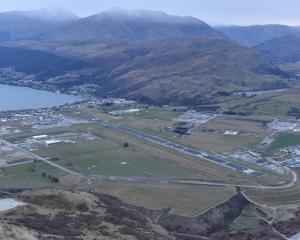 Queenstown Airport has a positive future. Photo by Gregor Richardson.