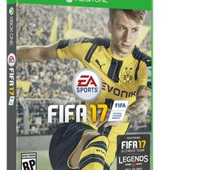 The FIFA 17 cover. Photo: Bang Showbiz
