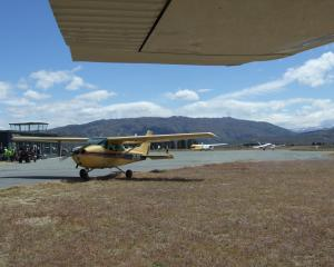 Alexandra Airport during the Lakes area rally flying competition in November last year. Photo:...
