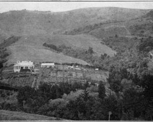 A homestead at Blanket Bay, on the Port Chalmers-Dunedin railway route. - Otago Witness, 13.9.1916.