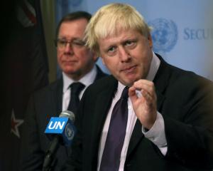 British Foreign Secretary Boris Johnson sais there is still a way to go before kiwi's have less...