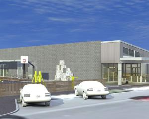 An artist's impression of the completed community hub. IMAGE: SUPPLIED