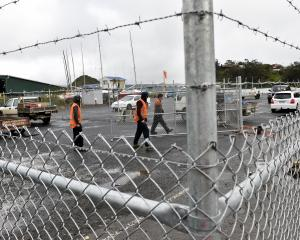 Some West Harbour residents are angry part of a public car park in Port Chalmers has been fenced...