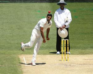 Indian spinner Ravi Ashwin. Photo: Getty Images