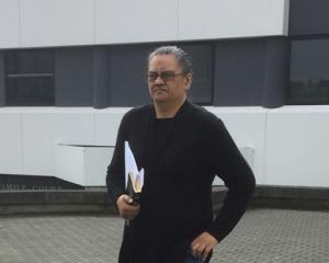 Former Hamilton IRD employee Deanna Isherwood leaves the Hamilton District Court today after...