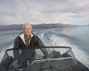 Hollywood film director James Cameron is in support of a Kermadec Islands Ocean sanctuary.  Photo...