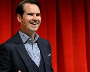 Jimmy Carr delivered a low-blow joke on Comedy Central's 'The Roast of Rob Lowe.' Photo / Getty