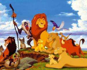 Disney has announced animated film 'The Lion King' will be turned into a live-action film. Photo:...