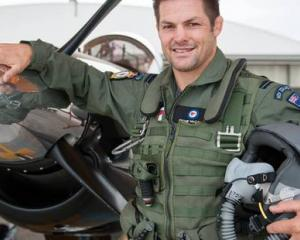All Black legend Richie McCaw has always had a keen interest in aviation. Photo / Facebook