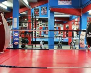 An amateur boxer has died at a charity event held at Nabby's Boxing Gym in Hamilton. Photo: NZ...