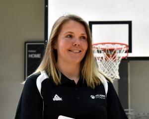 Basketball Otago development officer Natalie Visger has been named as the New Zealand girls under...