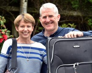 Former St Clair School principal Richard Newton and wife Chris are busy preparing for their move...