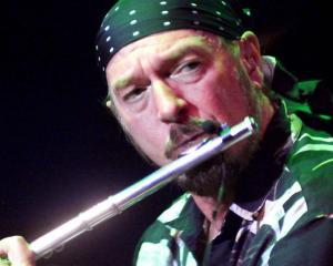 Jethro Tull's Ian Anderson.