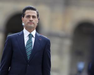 President Enrique Pena Nieto. Photo: Reuters