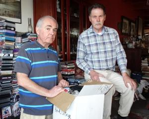 Queenstown housemates Peter MacKay (left) and Bob O'Connor have to move out of their Fernhill...