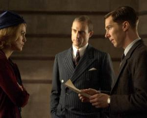 Actor Benedict Cumberbatch played Alan Turing in the 2014 biopic 'The Imitation Game'. Photo: File