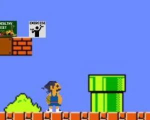 Steven Adams is the star of a new Super Mario Bros. parody in which he must rescue Kevin Durant...