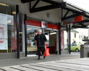 The Gardens Westpac branch will close by early November. Photo: Gregor Richardson.