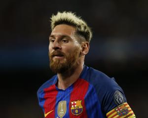 Lionel Messi. Photo: Reuters