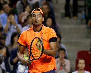 Nick Kyrgios. Photo: Reuters