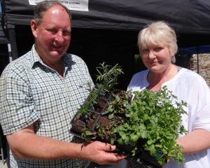 Peter and Sharon Brass, from Cherry Tree Orchard, will be among the stallholders at the Cromwell...