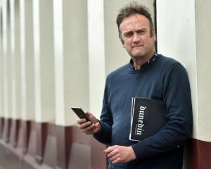 Enterprise Dunedin business adviser Antony Deaker plans to make the most of publicity from the...