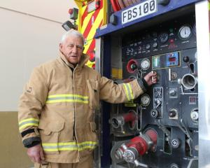 Balclutha volunteer fire brigade member Fraser Bunting will receive a double gold star  award...