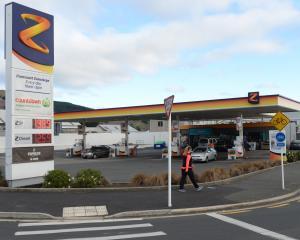 Z Energy is maintaining its volume of petrol sales. PHOTO: LINDA ROBERTSON