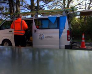 Chorus will continue to fund residential ultra-fast broadband connections until 2019. Photo...