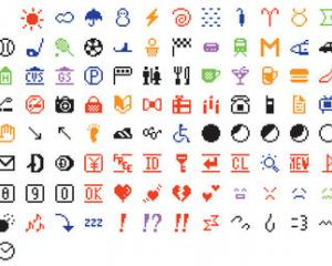 The original set of 176 emojis developed by NTT DOCOMO has been donated to the Museum of Modern...