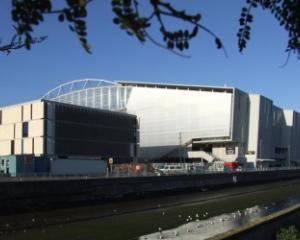 Forsyth Barr Stadium.