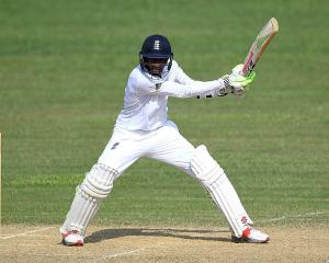 Haseeb Hameed batting for England. Photo: Getty Images
