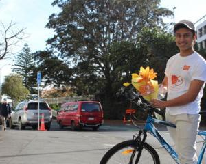 LazyAz founder Aryaman Taore initially ran deliveries himself. Photo: NZ Herald